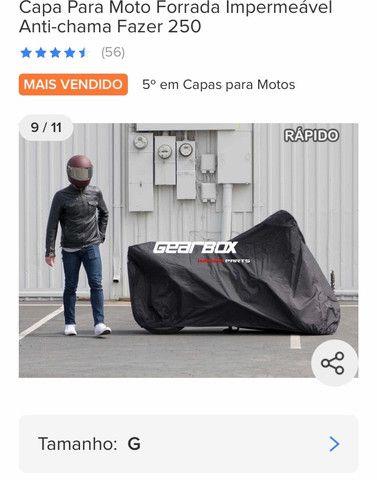 Capa para moto Bigtrail - Foto 5