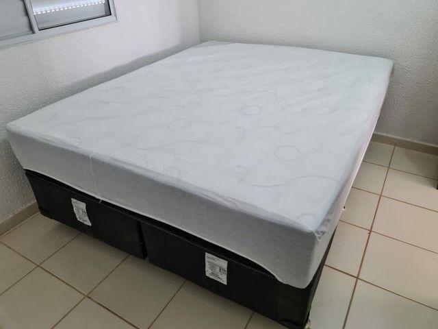 Conjunto cama Box casal Queen Ortobom Pró-Saúde Pró-Força - Foto 6