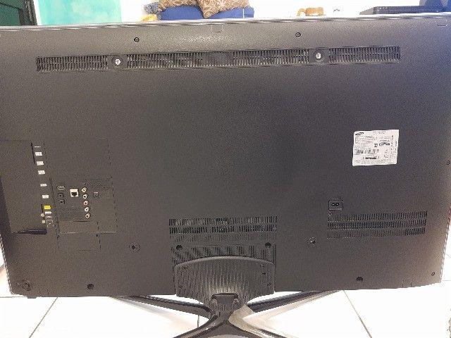 Smart Tv Slim Led 3d 46 Samsung un46f6400 Full Hd - Foto 2