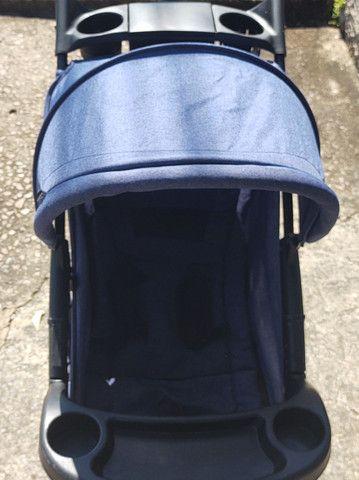 Carrinho bebê conforto completo marca cosco - Foto 5