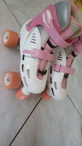 patins rosa lindo,  original , internacional  - Foto 2