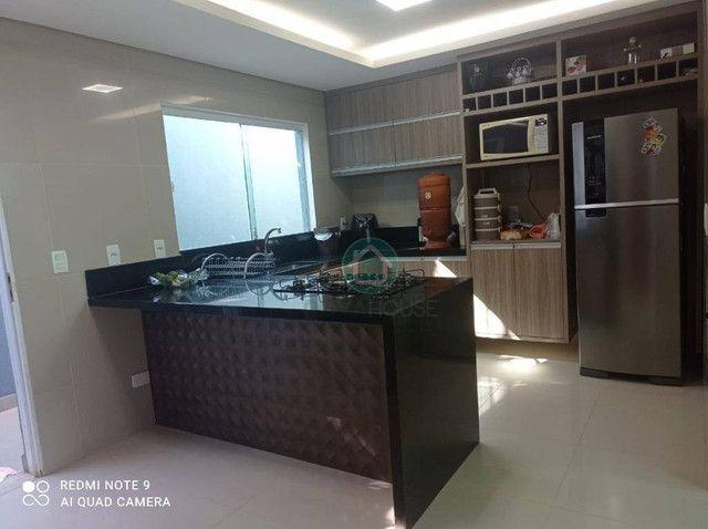Casa com 3 dormitórios à venda, 220 m² por R$ 850.000,00 - Agua Limpa Park - Campo Grande/ - Foto 8