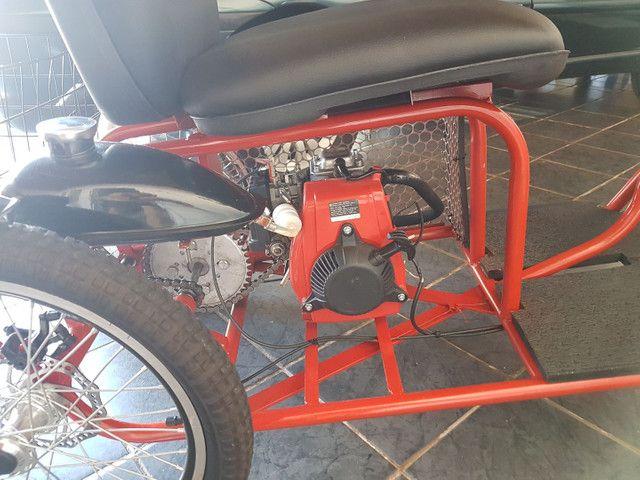 Triciclo motorizado 49cc 4t - Foto 6