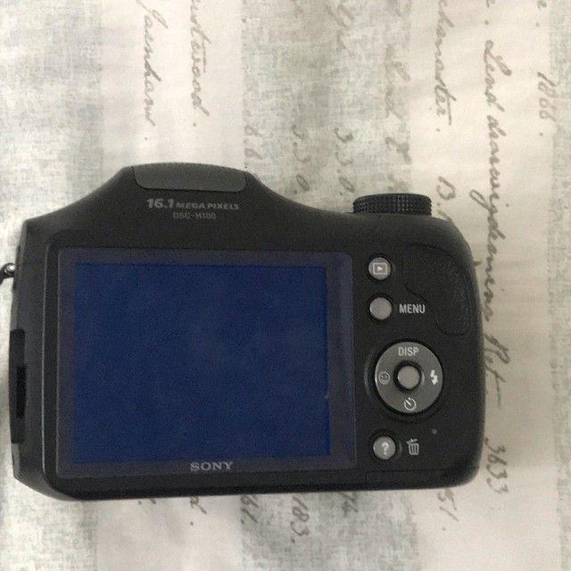 Câmera Sony Cyber-Shot DSC H100  - Foto 3