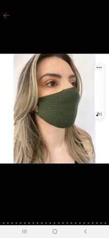 Mascara de tricô - TOP das blogueiras - Foto 3