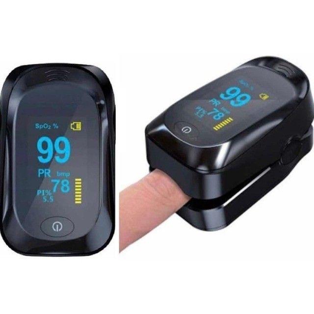 Oxímetro Digital de Dedo Pulso Portátil com Curva Plestimográfica Multilaser Ox-06 HC261 - Foto 2