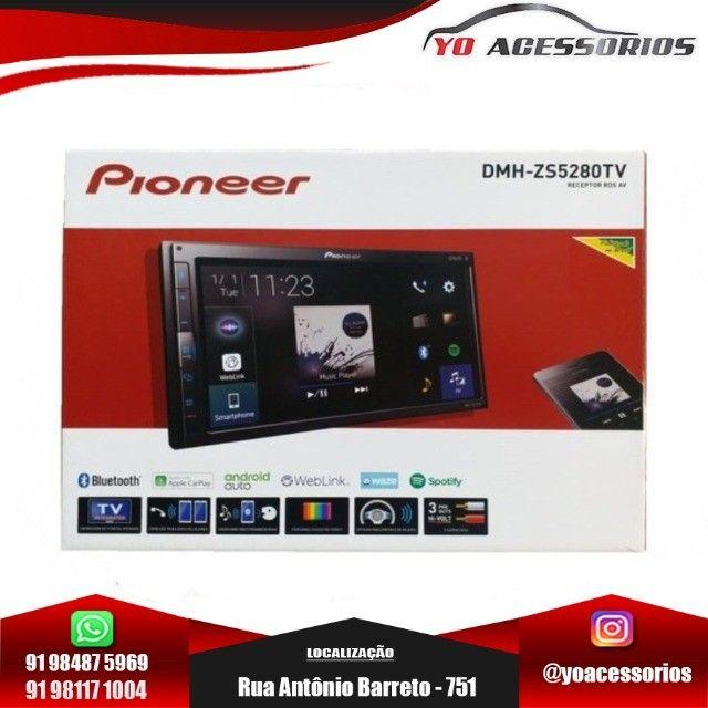 Multimidia Receiver Pioneer Dmh-zs5280tv Modular Web Link