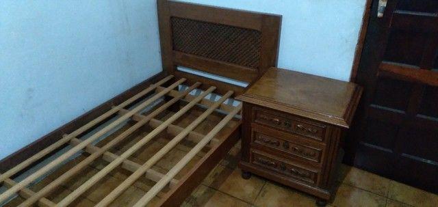 Cama de Solteiro de madeira Maciça - Foto 5