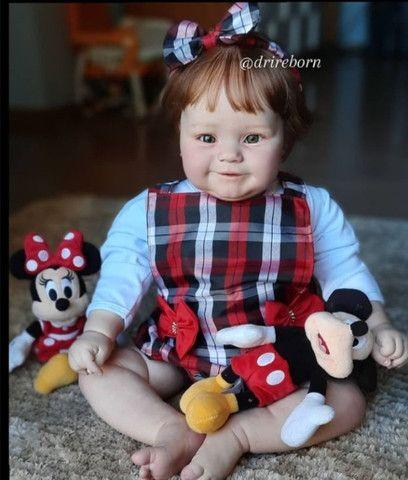 Bebê reborn realista kit Maddie 60cm - Foto 2