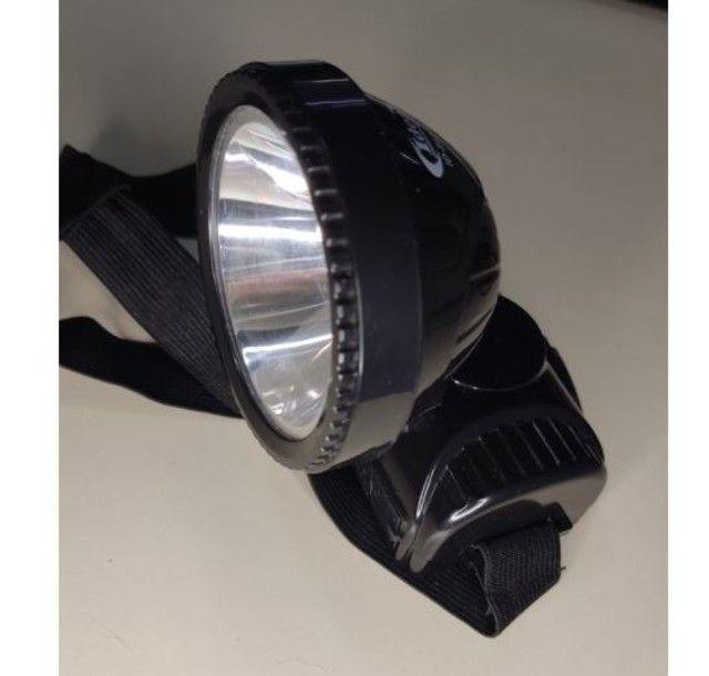 Lanterna Cabeça Led Recarregável - Foto 6