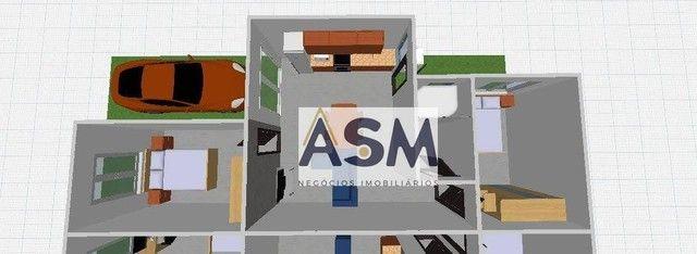 Casa com 2 dormitórios à venda, 60 m² por R$ 200.000,00 - Nossa Senhora de Fatima - Penha/ - Foto 5