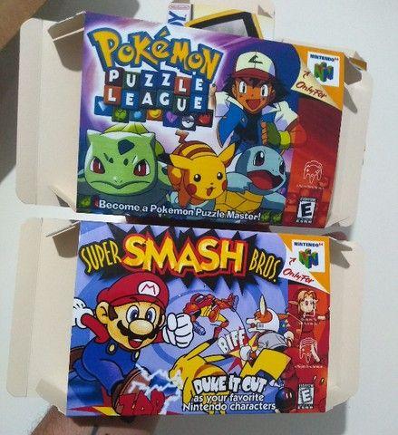 Caixas para Cartuchos de Nintendo 64 - Foto 5