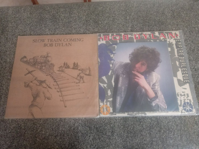 Lote2 lps bob dylan
