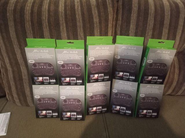 VÁRIOS MINI TECLADO PRA TV BOX,  SMARTV, NOTEBOOK, PC e VÍDEO GAME  - Foto 2
