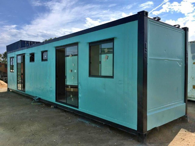 Kitnet Dupla Container para Alugar