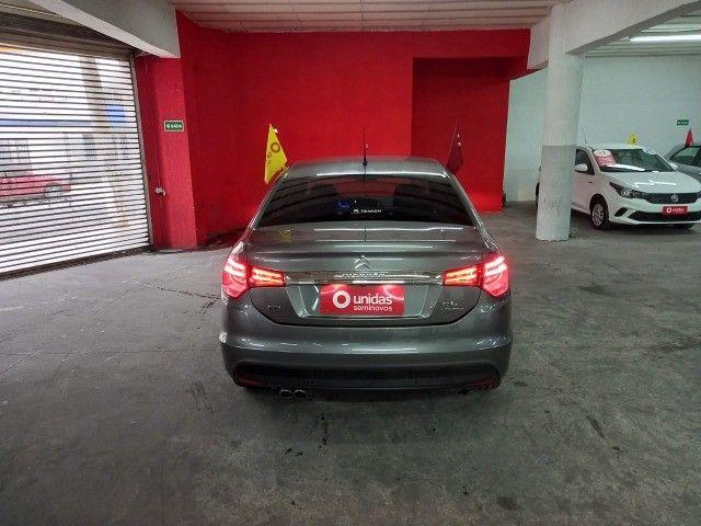 Citroen C4 Lounge Exclusive 1.6 turbo Thp Flex Aut 4p 2018 (Uber Black)  - Foto 5