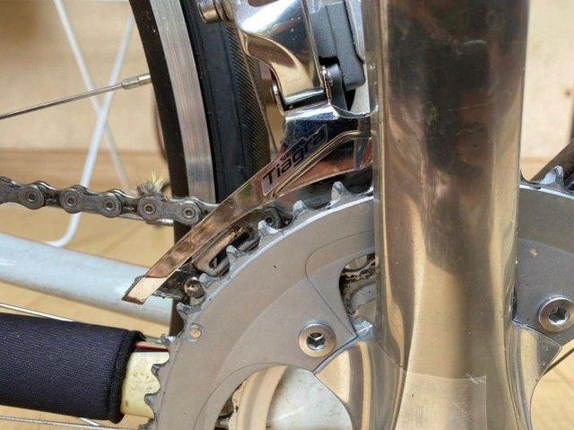 Bicicleta speed toda no shimano tiagra (bike) - Foto 4