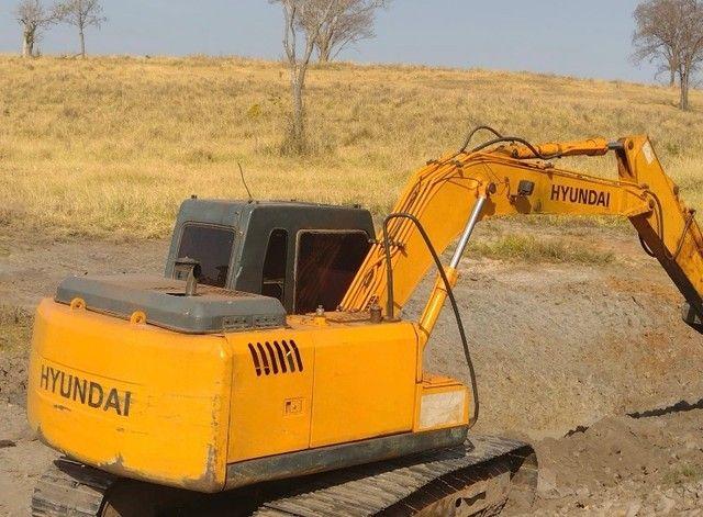 Escavadeira Hyundai 140 2009