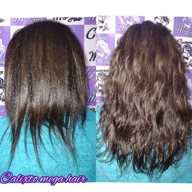 Colocação de cabelo