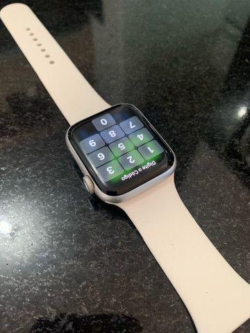 Apple Watch Series 4 Prata 44MM  - IMPECÁVEL  - Foto 3