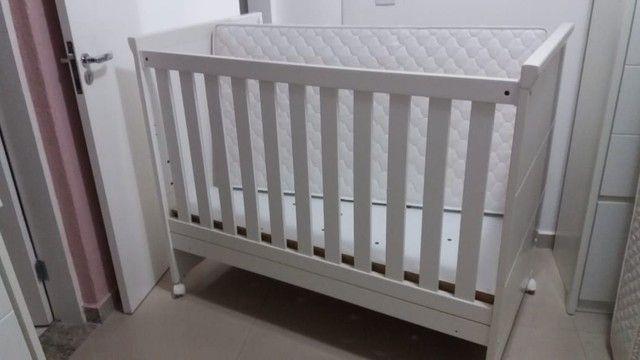 Berço cama + colchão  (semi novo)  - Foto 2