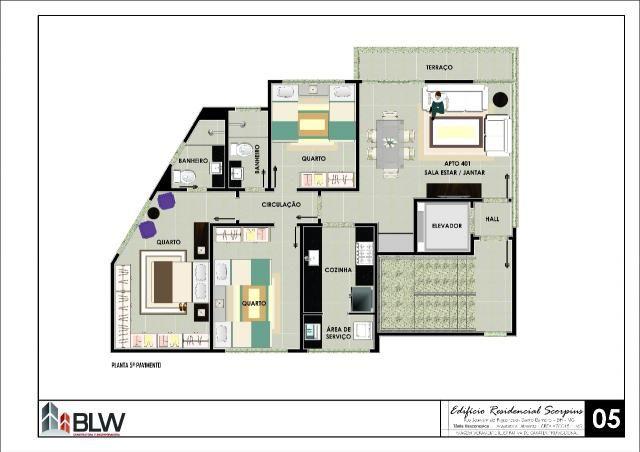 Apartamento à venda, 3 quartos, 2 vagas, barreiro - belo horizonte/mg - Foto 10