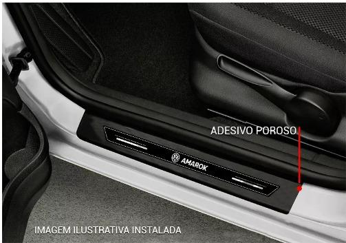Kit 8 Peças Adesivo Soleira - Emblematech Para Todos os Modelos de Carro - Foto 12