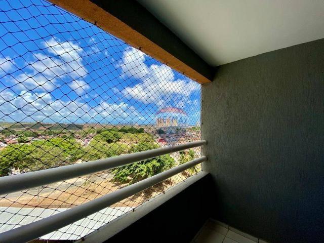 Apartamento com 2 dormitórios à venda, 59 m² por r$ 190.000 - pitimbu - natal/rn sun garde - Foto 9