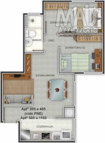 Apartamento para venda em novo hamburgo, centro, 2 dormitórios, 1 banheiro, 1 vaga - Foto 8