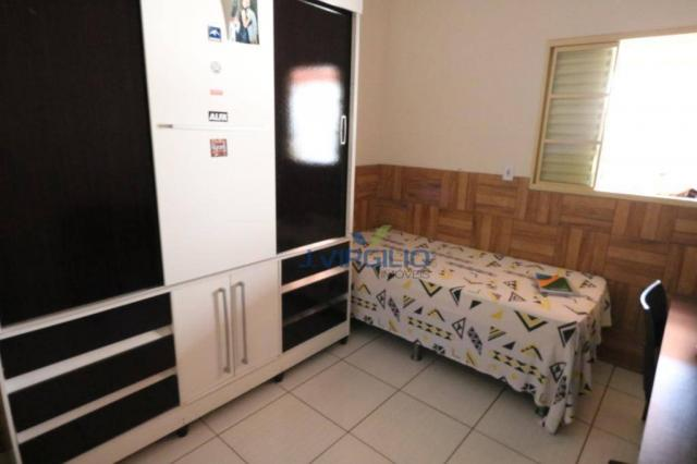 Casa com 3 dormitórios à venda, 125 m² por r$ 290.000,00 - residencial recanto do bosque - - Foto 14