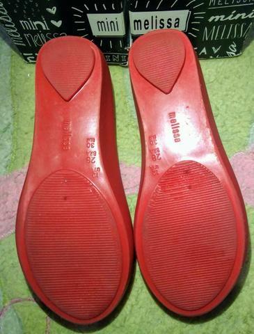 Melissinha Sapatilha vermelha - Foto 3