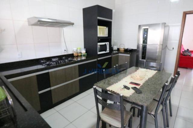 Casa com 3 dormitórios à venda, 125 m² por r$ 290.000,00 - residencial recanto do bosque - - Foto 11