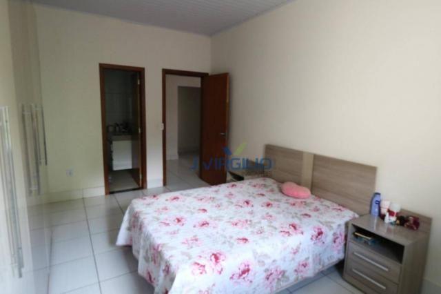 Casa com 3 dormitórios à venda, 125 m² por r$ 290.000,00 - residencial recanto do bosque - - Foto 17
