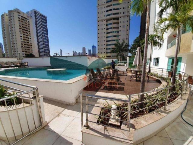Apartamento com 4 suítes à venda, 170 m² por R$ 960.000 - Setor Bueno - Goiânia/GO - Foto 14