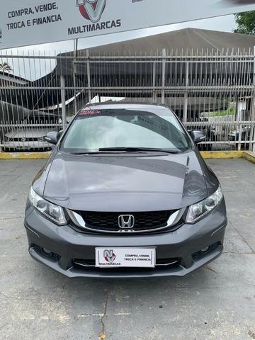 Honda civic lxr 2016 automatico 10 mil de entrada - Foto 4