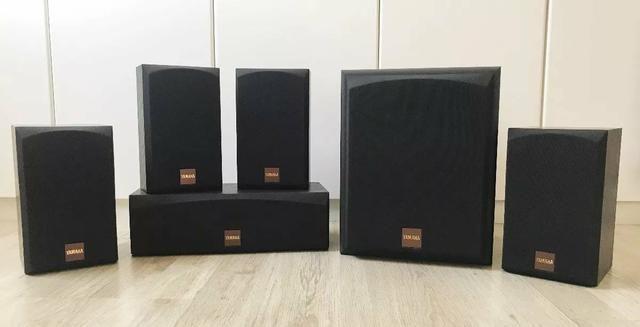 Home Theater Onkyo HT-r570 750w RMS com caixas Yamaha som incrível - Foto 3
