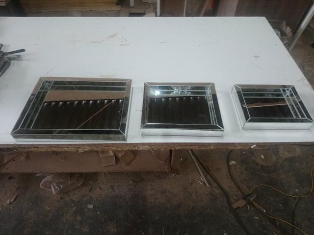 Fábrica de bandejas Espelhadas ( Aceitamos Cartões)