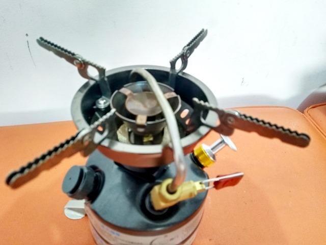 Fogareiro multi combustível BRS 12; novo - Foto 3