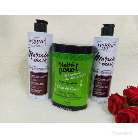 Matizador para cabelos marsala - Foto 2