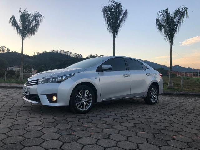 Toyota Corolla Altis Top de linha Único dono Baixo KM - Foto 2