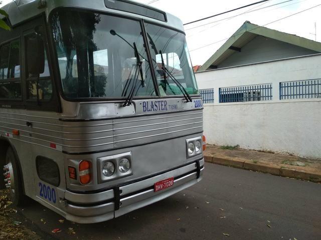 Vendo ou troco ônibus dinossauro cma cometa 95/96 pego caminhonete carro - Foto 8