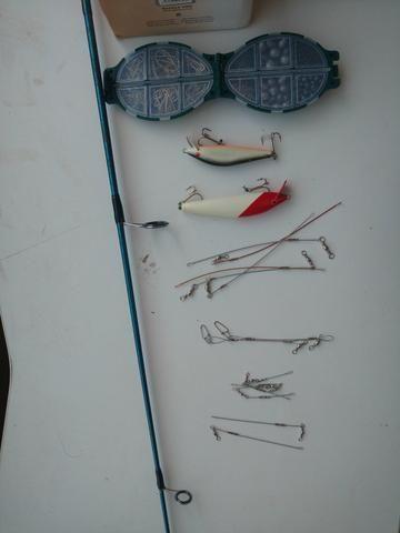 Kit de pesca novo - Foto 2