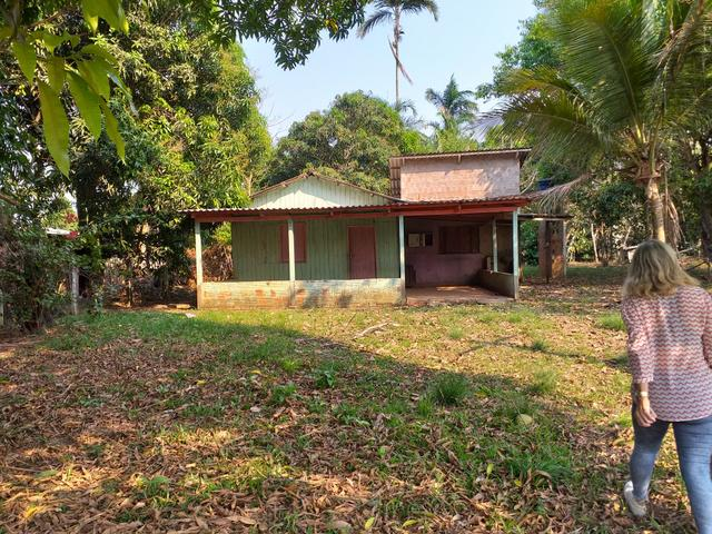 Vendo casa mista com terreno medindo 40×40