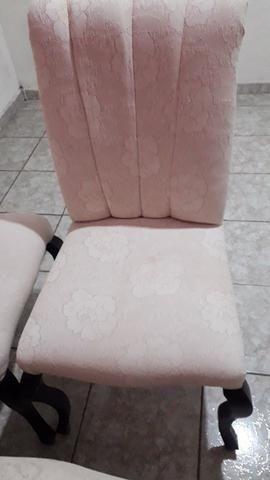 Vendo pra hoje.cadeiras almofadadas - Foto 2