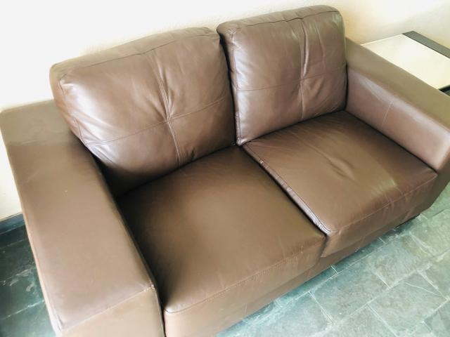 Sofá em couro - Foto 2