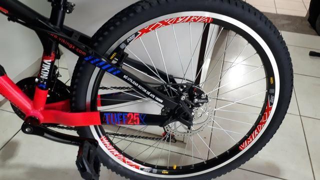 Bicicleta Vikingx tuff freio a disco - Foto 5