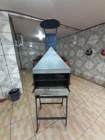 Vendo churrasqueira novinha. - Foto 4
