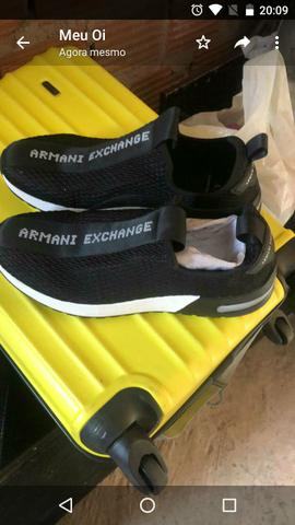 Tênis Armani exchenge original - Foto 2