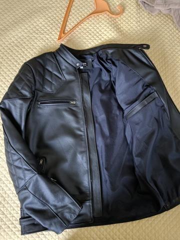 Jaqueta de couro legítimo - Foto 3