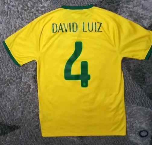 Raridade!! camisa da seleção brasileira 2014 - Foto 2